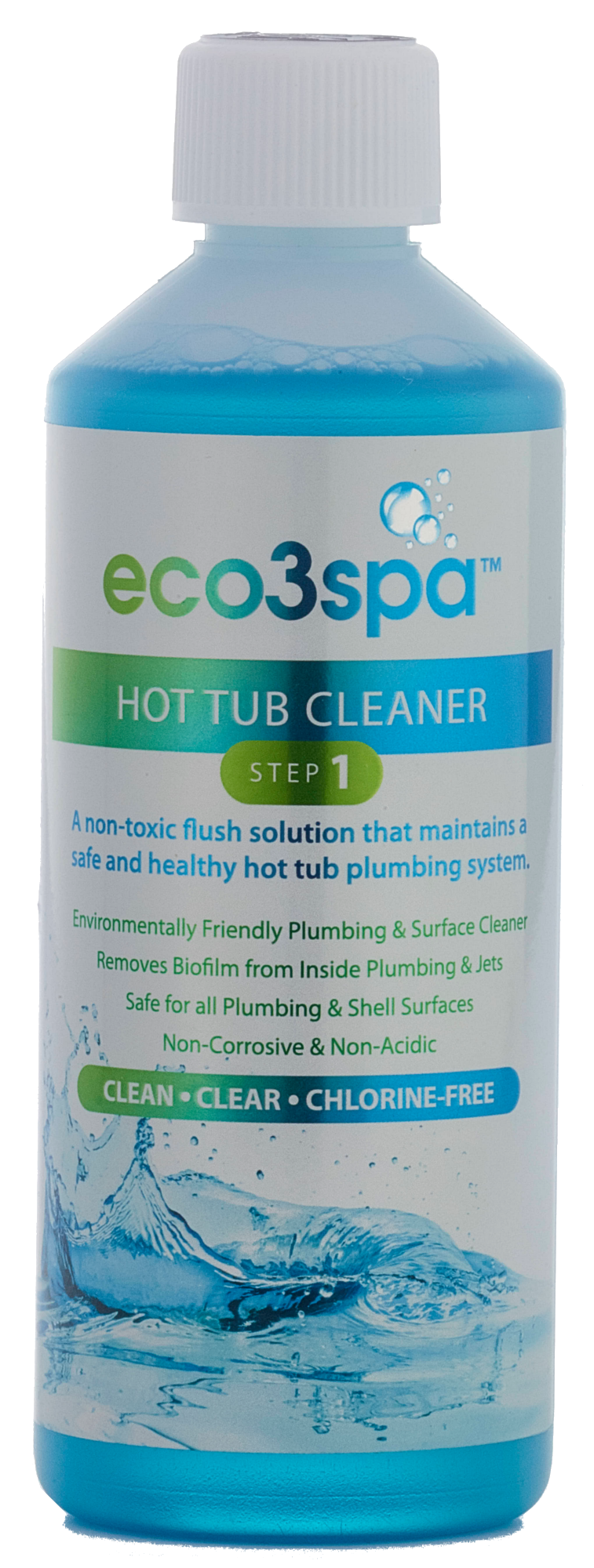 hot tub cleaner and biofilm remover